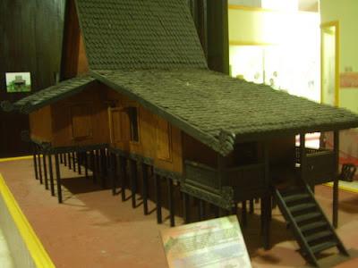 Banjar Traditional House, Lambung Mangkurat Museum Banjarbaru