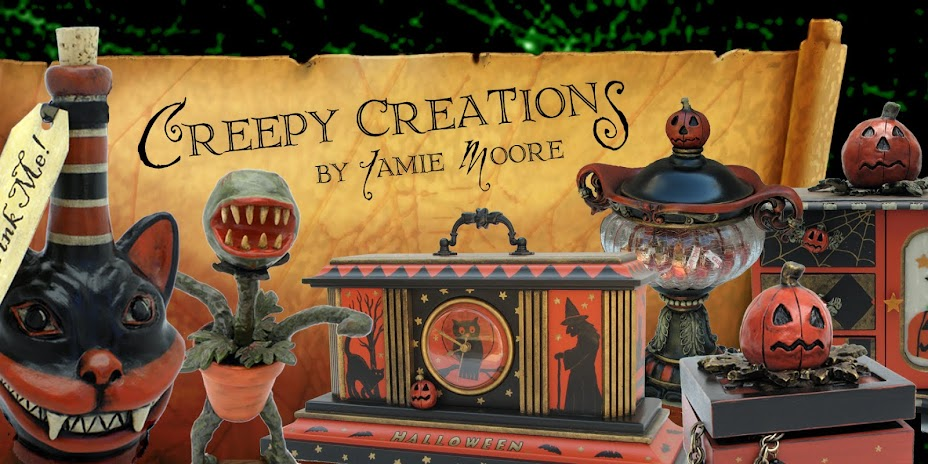 Creepy Creations by Jamie Moore