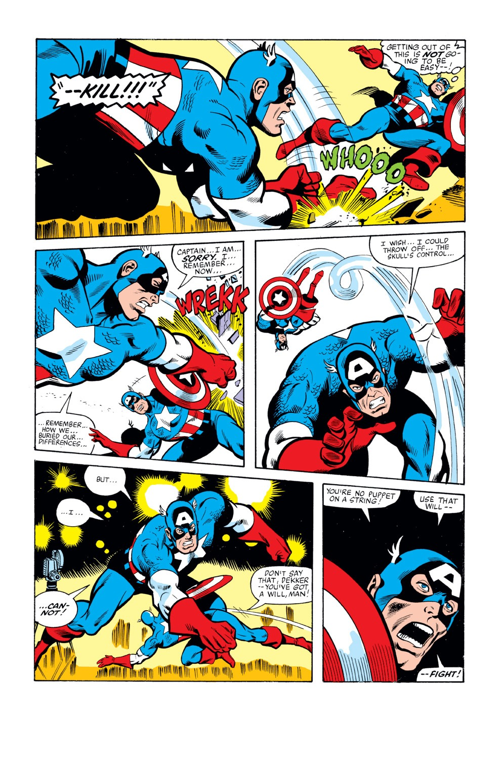 Captain America (1968) Issue #263 #178 - English 6