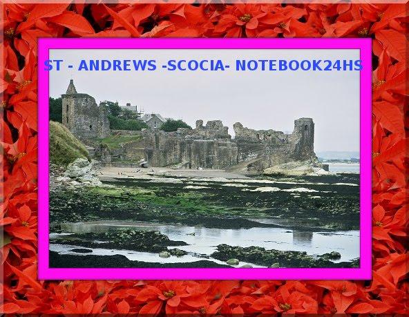 """"""" ST-ANDREWS - ESCOCIA """" Turismo todo el Año"""