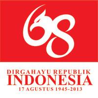 Logo dan Banner HUT RI-68
