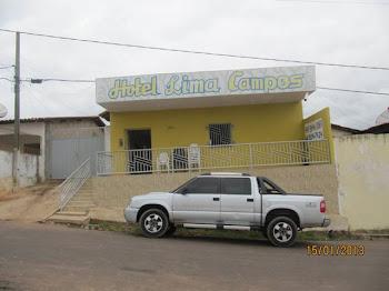 EM LIMA CAMPOS, HOSPEDE-SE HOTEL LIMA CAMPOS.