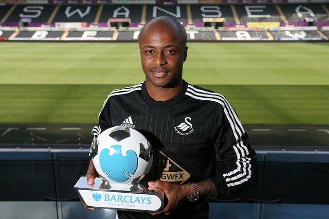 West Ham agree £20m Ayew fee with Swansea City