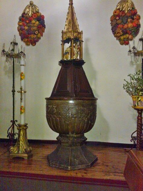 Fonte battesimale parrocchia S.Ippolito Bardonecchia