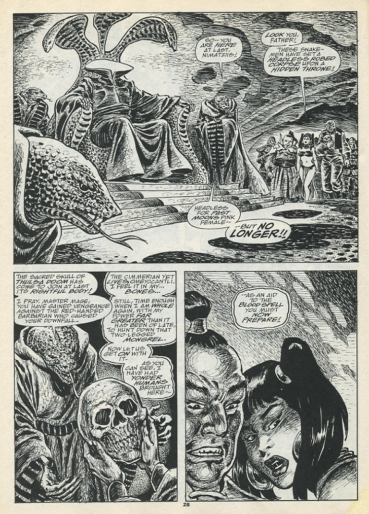 The Savage Sword Of Conan Issue #193 #194 - English 30