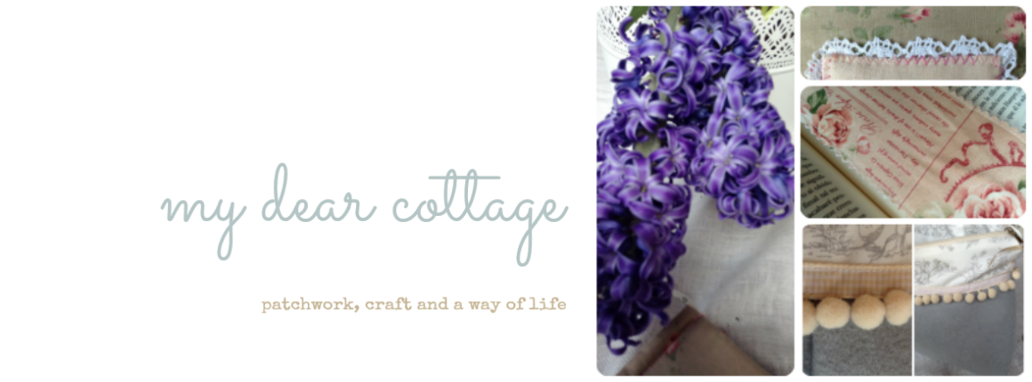 mydearcottage: patchwork, crafty and a way of life