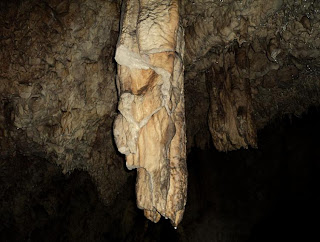 Cave Castle Valley-   stalactite photo