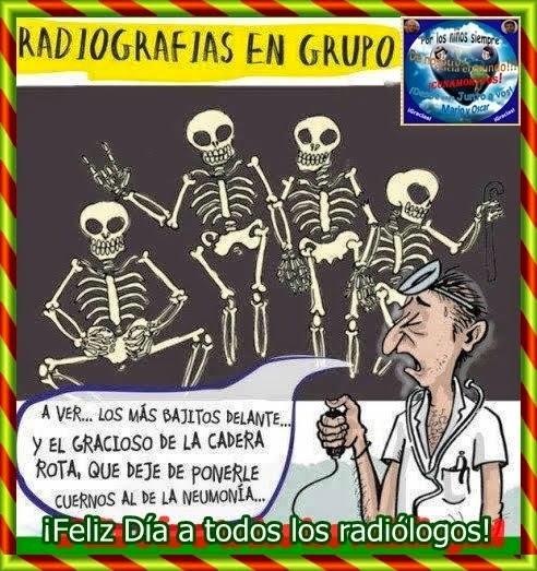 ¡Feliz día a todos nuestros radiólogos/as!
