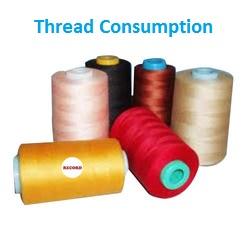 Thread Consumption of Garments