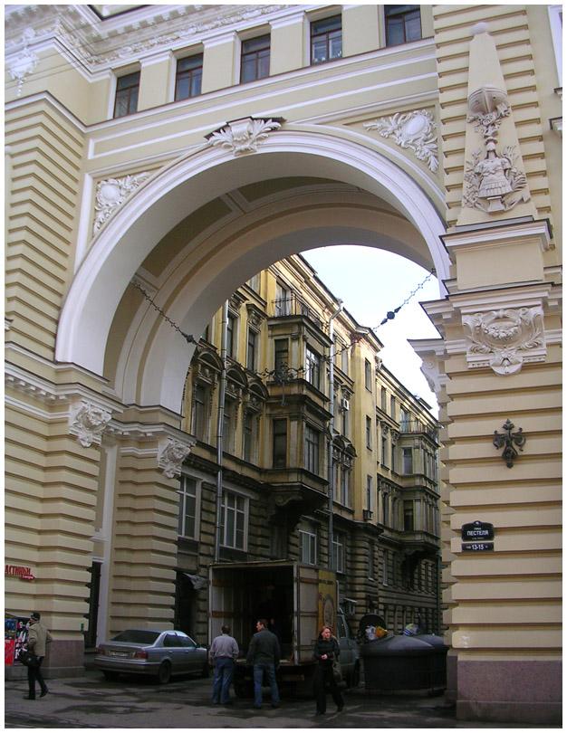 Санкт-Петербург улица Пестеля