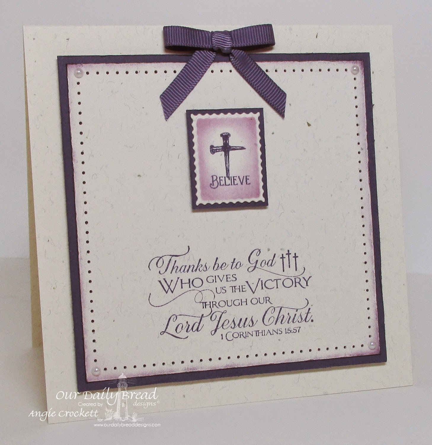 ODBD Scripture Collection 10, Admit One, ODBD Custom Mini Tags Dies, Card Designer Angie Crockett