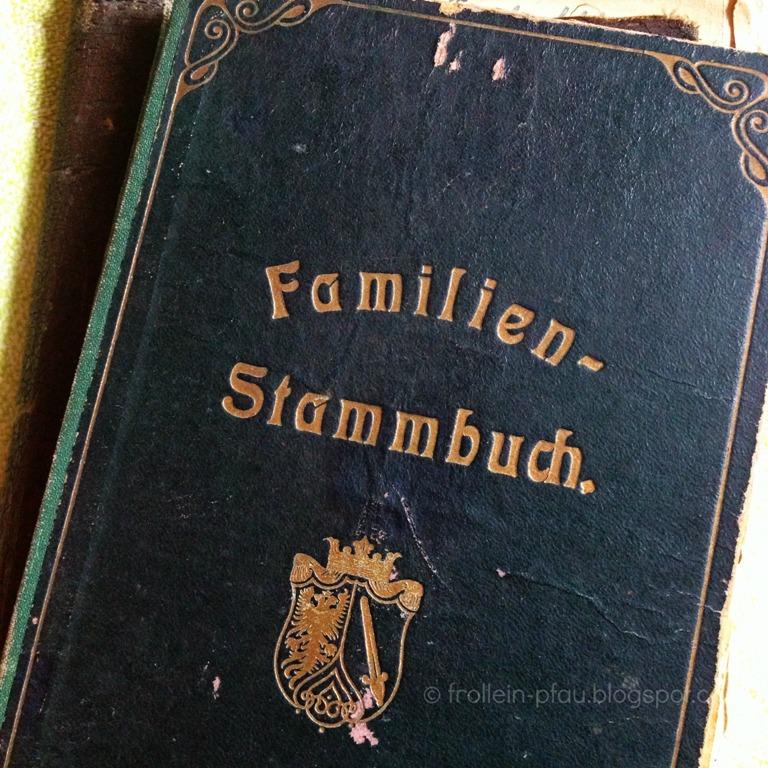 Mittwochs mag ich, Mmi, Zeitgeschichte, Familienstammbuch, Familiengeschichte