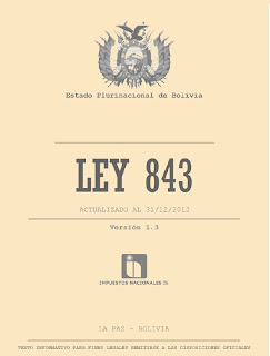 ley 843 actualizada