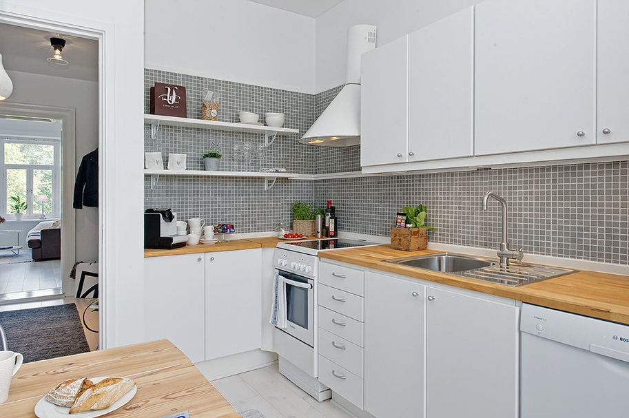 Ремонт квартир фото кухня студия
