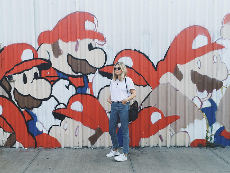 Fashion Over Reason Super Mario Brothers Brooklyn Mural