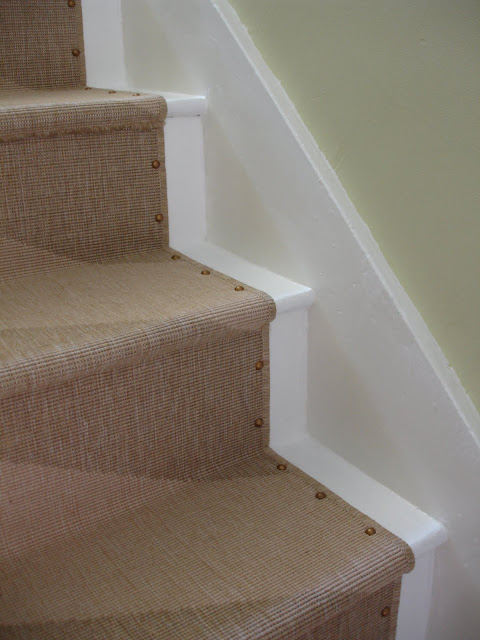 Loft Amp Cottage Diy Nailhead Stair Runner