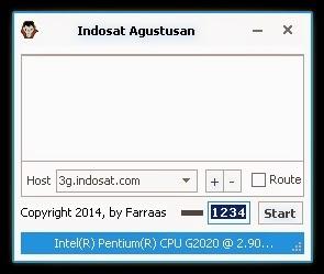 Inject Indosat Agustusan 21 Agustus 2014