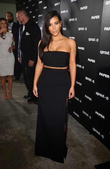 Model Kim Kardashian