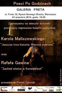 Karol Maliszewski i Rafał Gawin w Galerii FRETA.