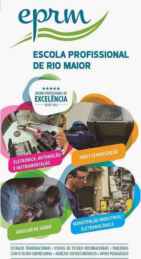 Cursos profissionais da Escola Profissional de Rio Maior