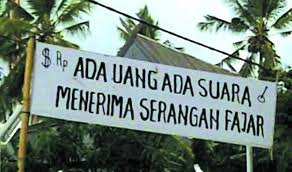 Politik Uang yang cerdas, Opini Indonesia