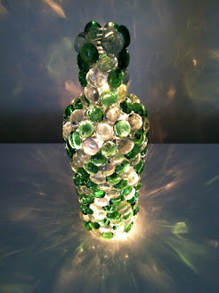 'Bottle Of Light'... I named this gift to us... Xmas 2012