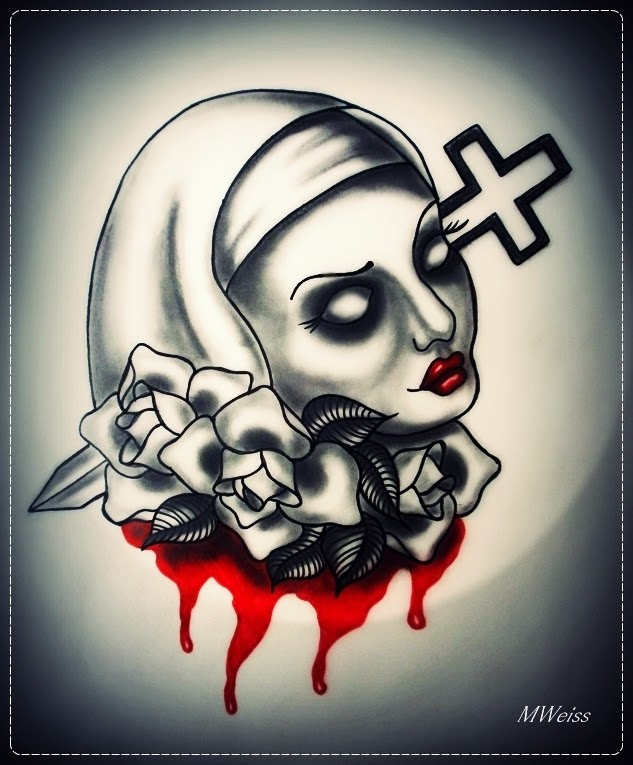 35 tatuagens macabras mais tattoo for Skull love tattoos