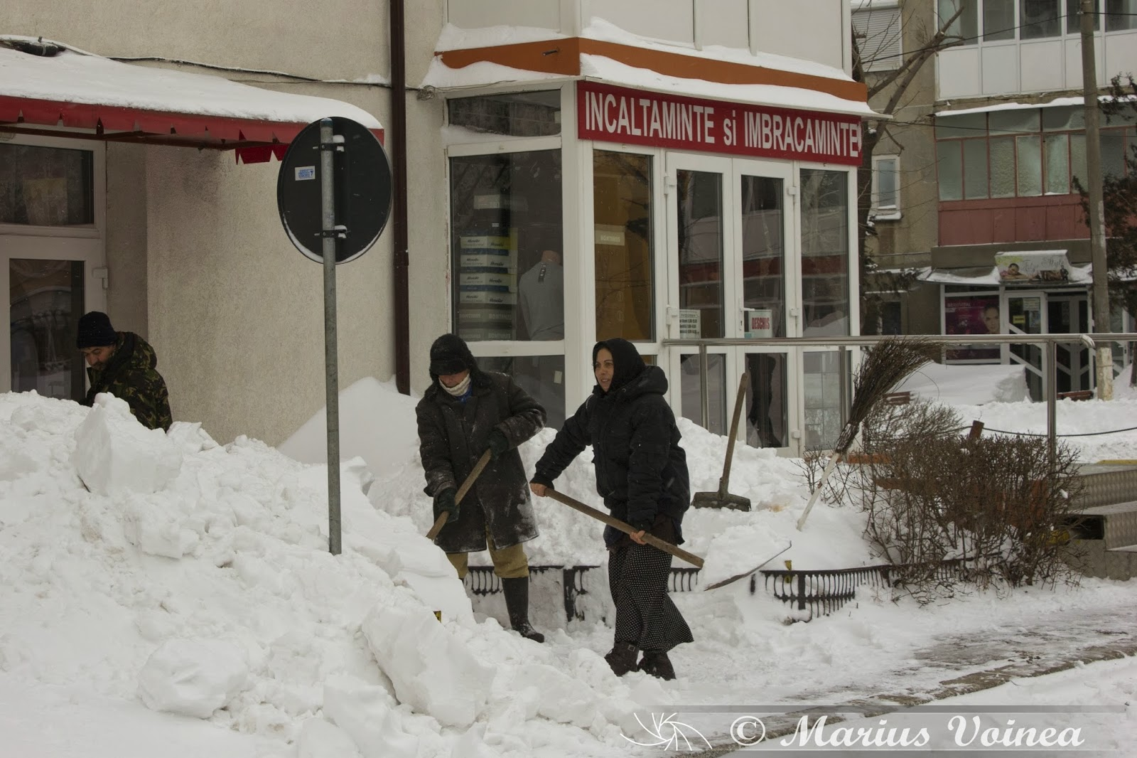iarna la ramnicu sarat, 2014 foto 11