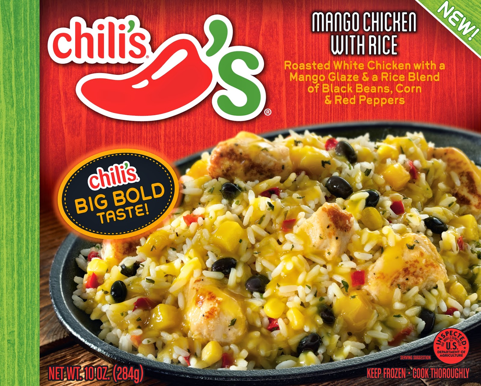 Chili's Frozen Meals