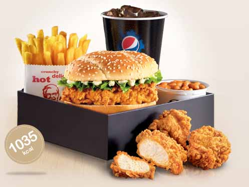 Kfc Meal Box KFC Hot Shots Burger Box Meal - Burger Lad - Burger Reviews - Burger ...
