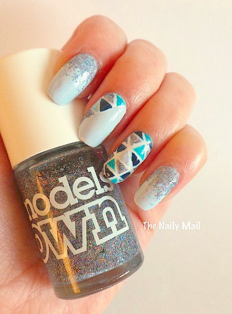 The Naily Mail Mosaic Nail Art