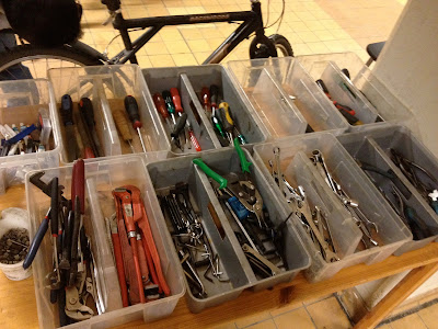 free tools at the cycle kitchen in malmo