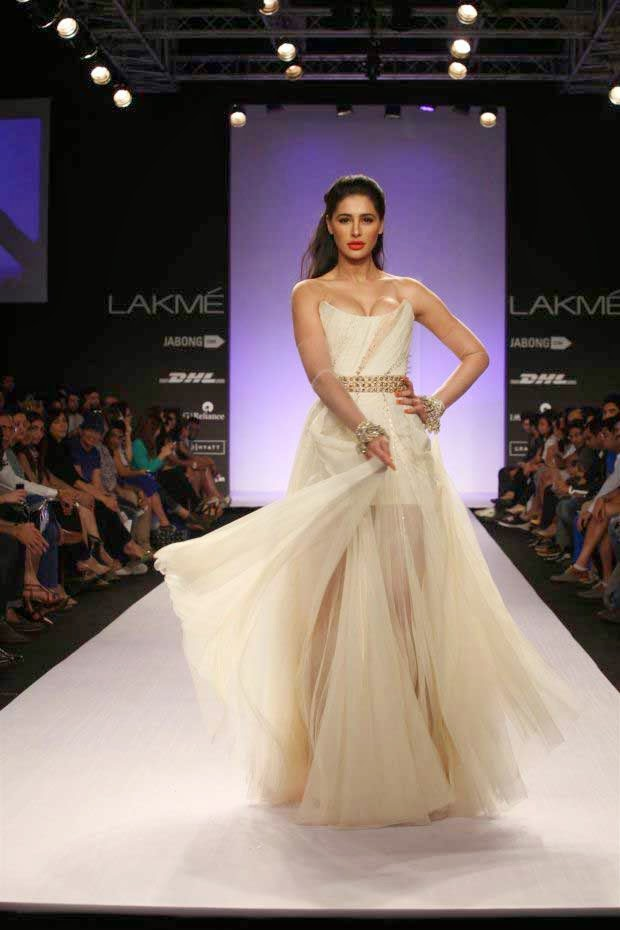 Nargis Fakhri at Lakme Fashion Week Summer/Resort 2014