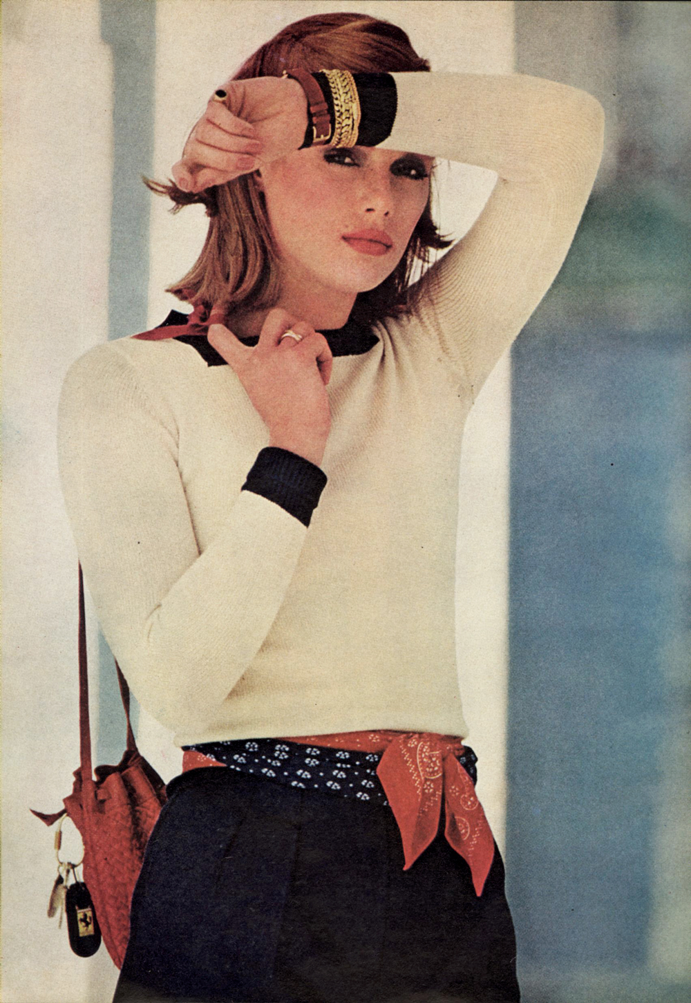 Outfit idea from Vogue 1976 / 1970s style / via fashioned by love british fashion blog
