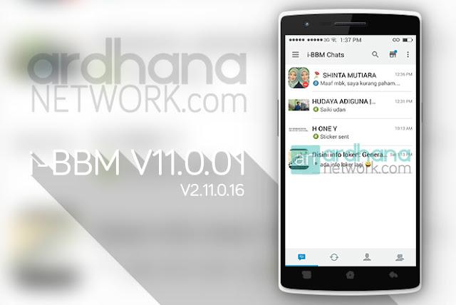 i-BBM V11.0.01 - BBM Android V2.11.0.16