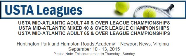 USTA Leagues Huntington Park and Hampton Roads Academy Newport News, VA