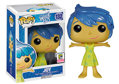 "San Diego Comic-Con 2015 Exclusive Inside Out ""Sparkle Hair"" Joy Pop! Disney/Pixar Vinyl Figure by Funko"