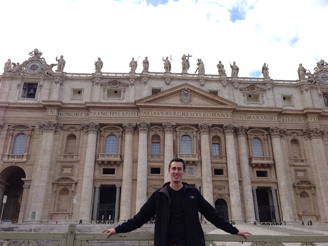 At St. Peter's!
