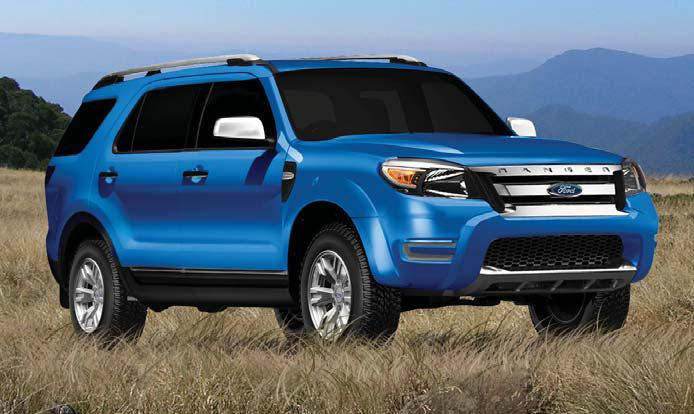 Cool Ford Everest Style Design
