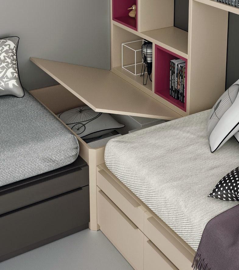 Dormitorios juveniles para dos hermanos - El mueble habitaciones juveniles ...