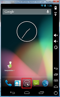Genymotion手機虛擬設備模擬畫面