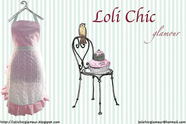 Loli chic glamour tienda loli chic delantales de cocina - Modelos de delantales de cocina ...