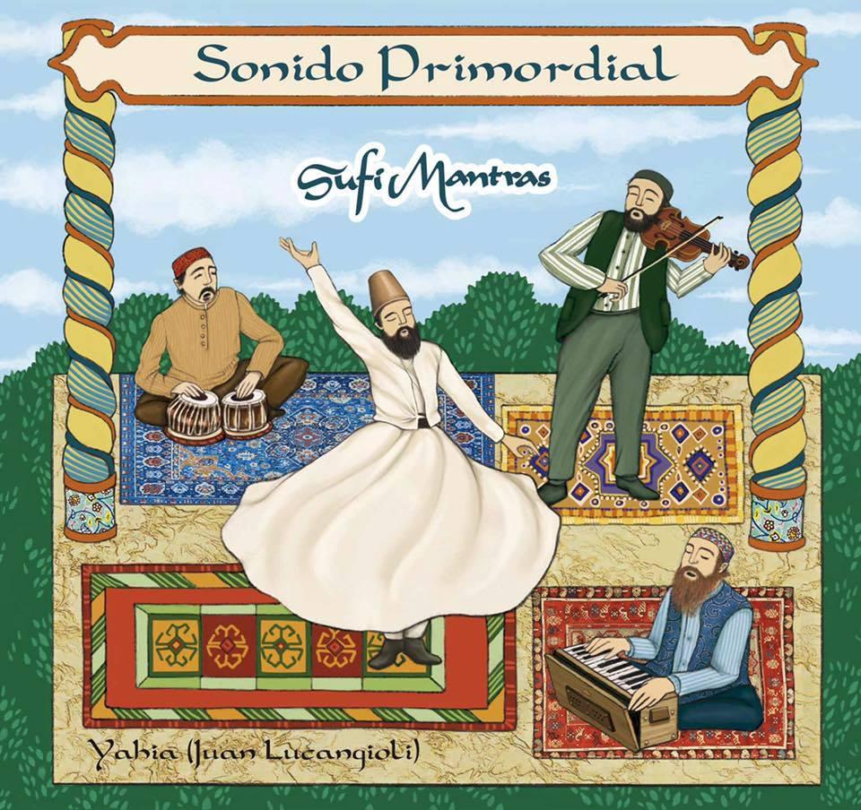 Cubierta de CD de musica sufi