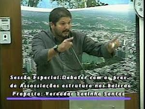 SÓSTENI NA TRIBUNA DA CÃMARA MUNICIPAL DE JOÃO PESSOA