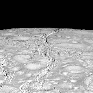 Closest Northern Views of Saturn's Moon Enceladus