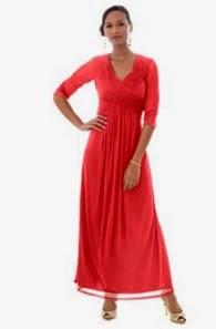 Jessica London Crisscross Dress with Beading