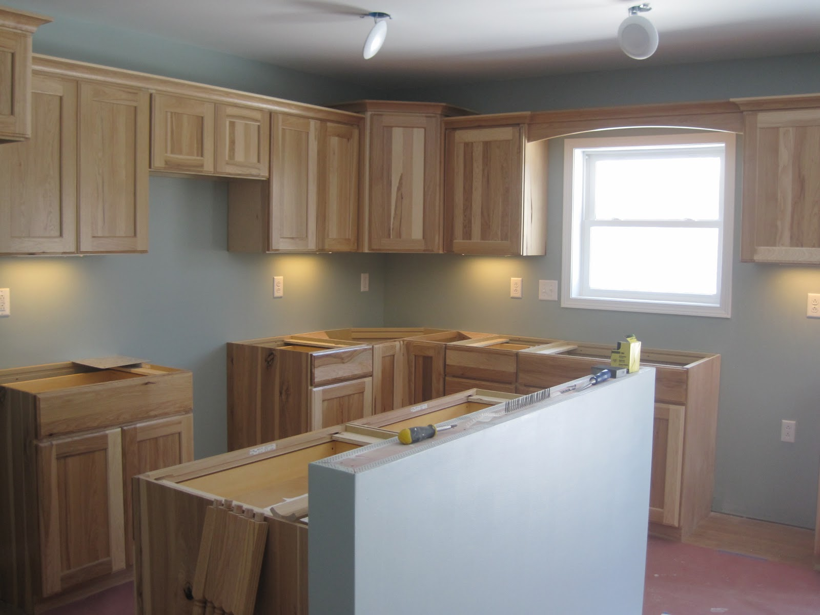 Building on Love - Our Hickory Kitchen