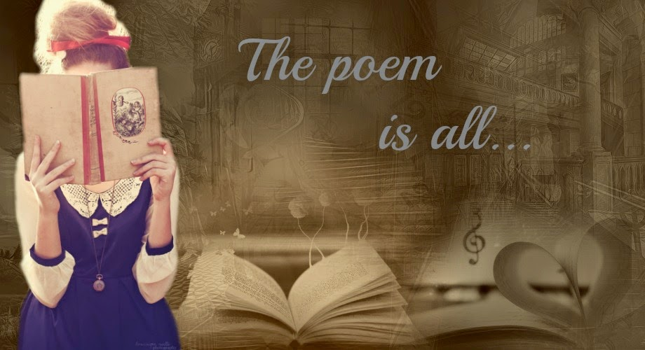 The poem is all...