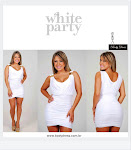 White Party by Body Dress