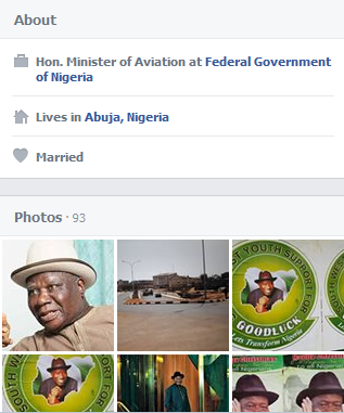 Aviation Minister Stella Oduah erases education references online after SR report